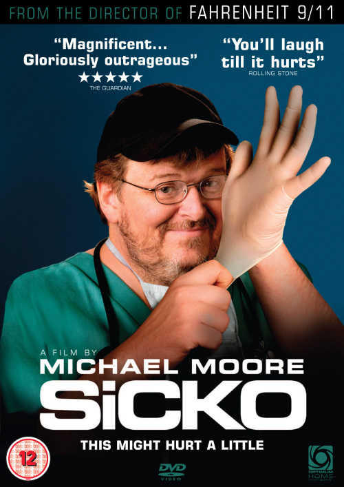 analyzing michael moores sicko as a healthcare Michael moore: the bush administration sent me a certified letter ten days before the cannes film festival informing me that i was under investigation for criminal and civil you've stated you're films are documentaries, but sicko is being marketed as a comedy.